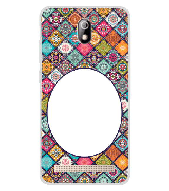 Camouflage Photo Back Cover for Comio C1 Pro