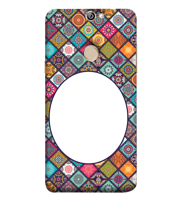 Camouflage Photo Back Cover for Coolpad Max A8