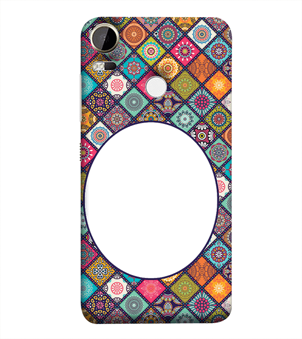 Camouflage Photo Back Cover for HTC Desire 10 Pro