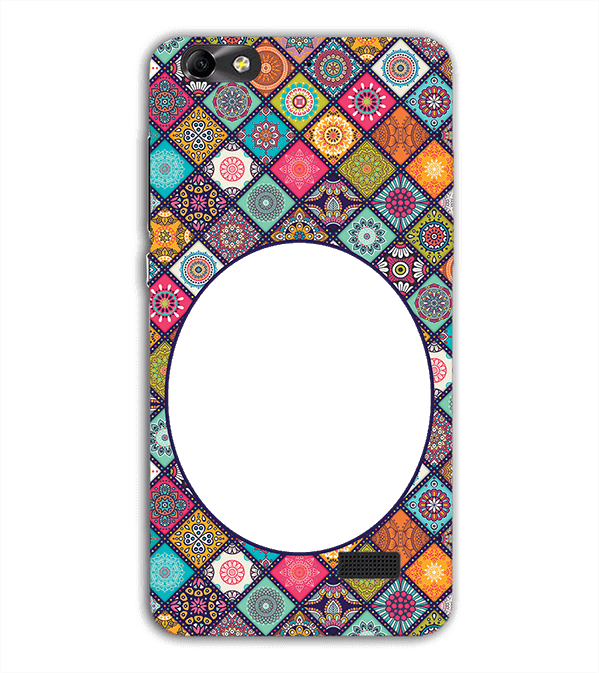 Camouflage Photo Back Cover for Huawei Honor 4C