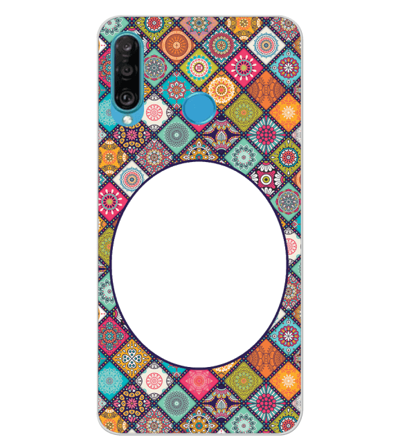 Camouflage Photo Back Cover for Huawei P30 lite