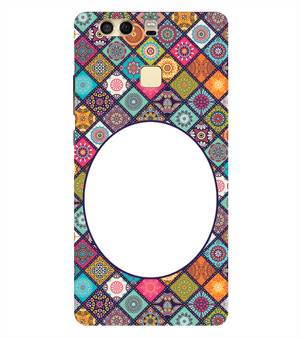 Camouflage Photo Back Cover for Huawei P9