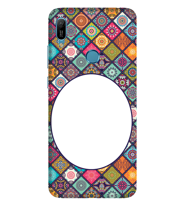 Camouflage Photo Back Cover for Huawei Y6 Prime (2019)
