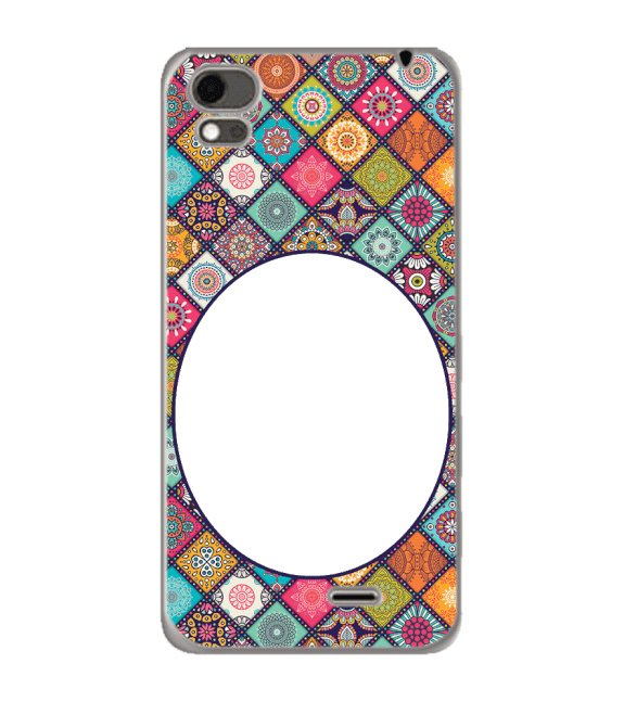 Camouflage Photo Back Cover for Karbonn Aura Note 4G