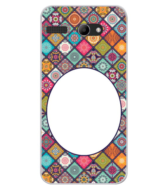 Camouflage Photo Back Cover for Lava Iris Atom X