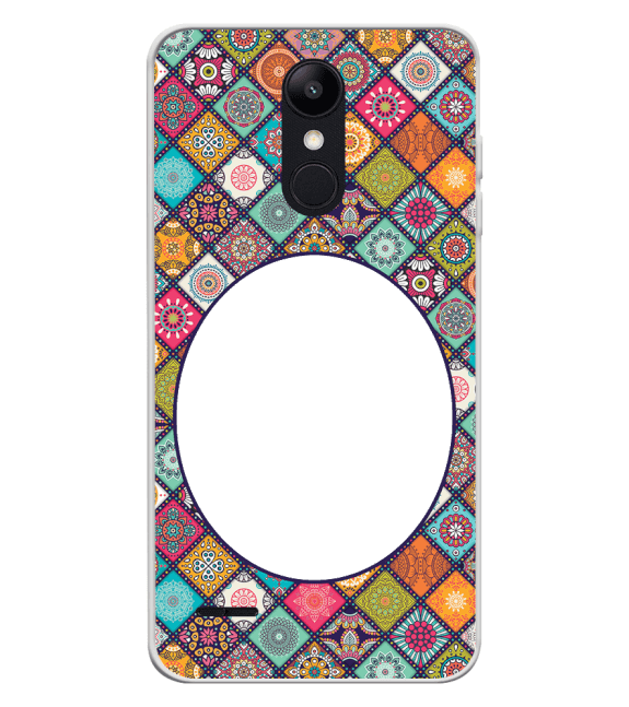 Camouflage Photo Back Cover for LG K9