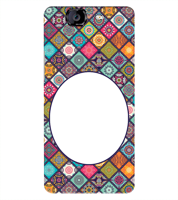 Camouflage Photo Back Cover for Micromax A350 Canvas Knight