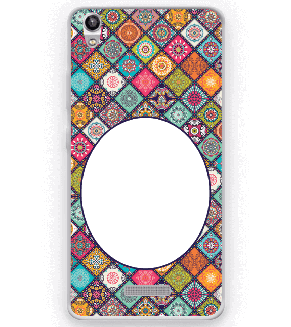 Camouflage Photo Back Cover for Micromax Canvas Fire 5 Q386