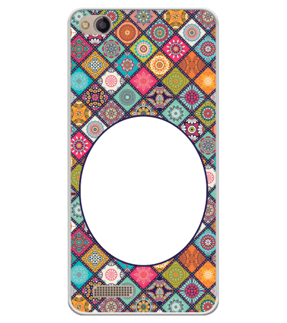 Camouflage Photo Back Cover for Mobistar CQ Dual