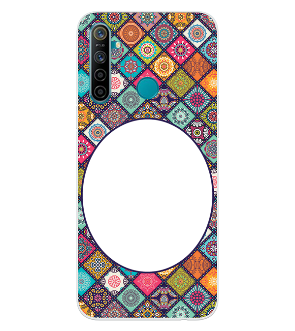 Camouflage Photo Back Cover for Realme 5i