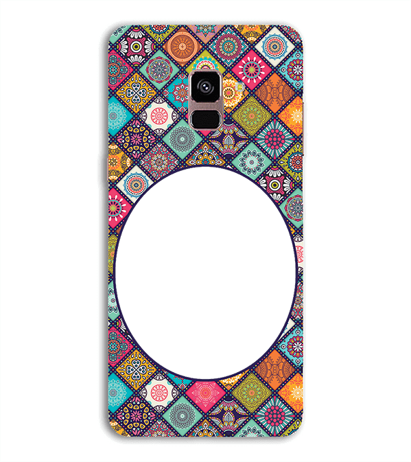 Camouflage Photo Back Cover for Samsung Galaxy A8 (2018)