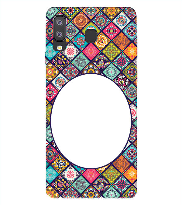 Camouflage Photo Back Cover for Samsung Galaxy A8 Star