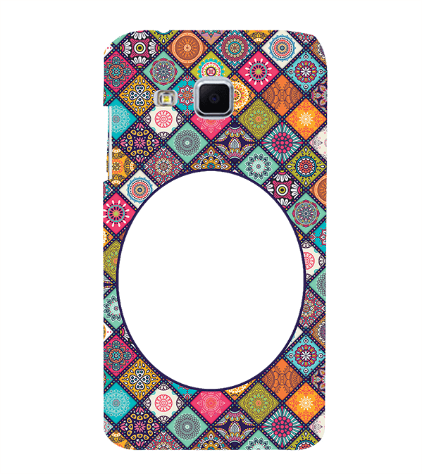 Camouflage Photo Back Cover for Samsung Galaxy J3