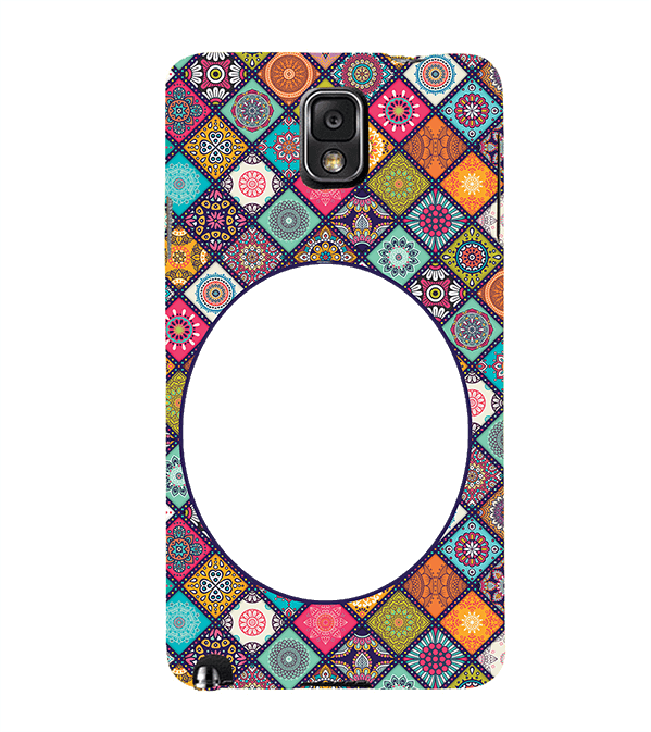Camouflage Photo Back Cover for Samsung Galaxy Note 3