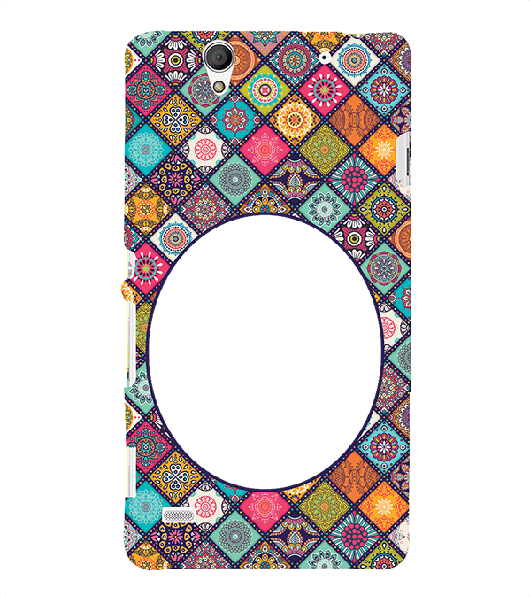 Camouflage Photo Back Cover for Sony Xperia C4