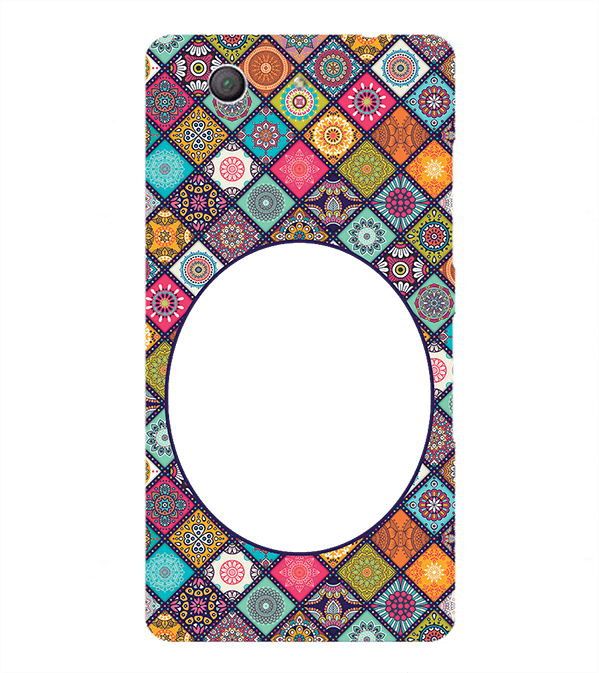 Camouflage Photo Back Cover for Sony Xperia Z3+ and Xperia Z4