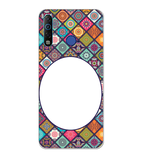 Camouflage Photo Back Cover for Tecno Camon 12 Air