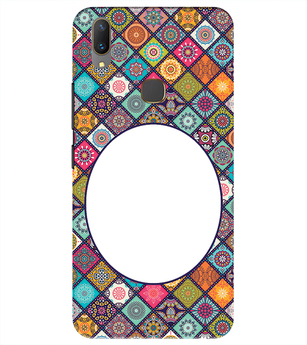Camouflage Photo Back Cover for Vivo Y85