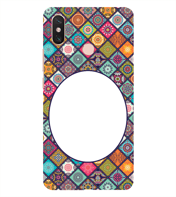 Camouflage Photo Back Cover for Xiaomi Mi Max 3