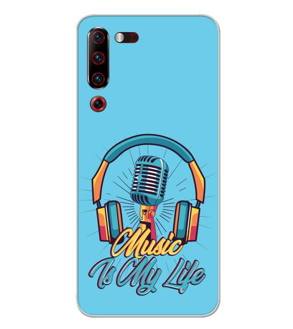 Music is My Life Back Cover for Lenovo Z6 Pro