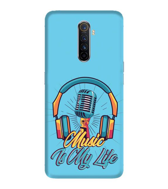 Music is My Life Back Cover for Oppo Reno Ace