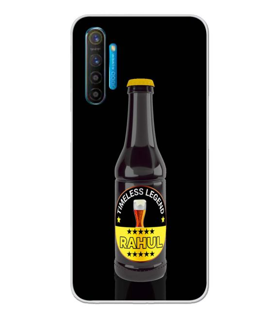 Name on Bottle Back Cover for Realme XT