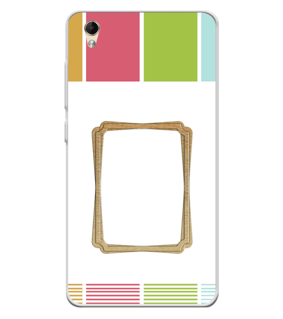 Neat Frame Back Cover for Lava Z60