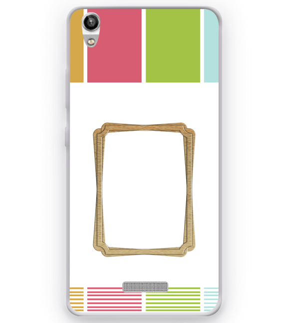 Neat Frame Back Cover for Micromax Canvas Fire 5 Q386