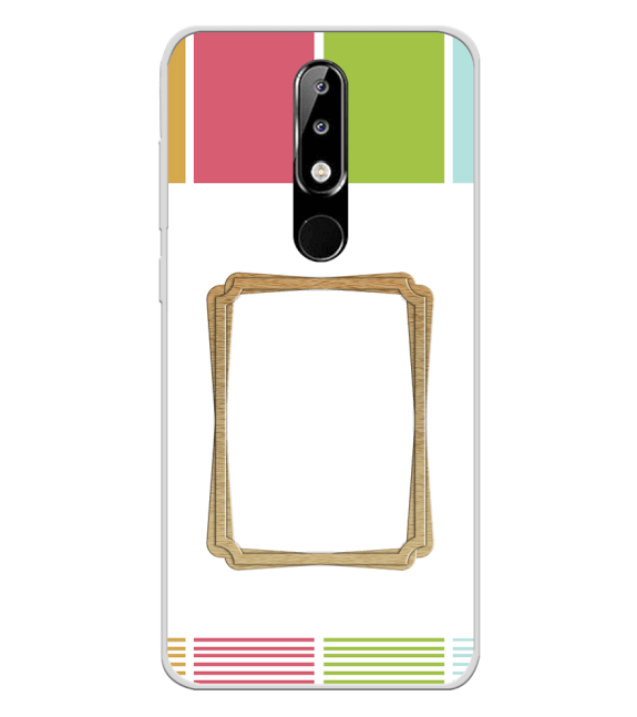 Neat Frame Back Cover for Nokia 5.1 Plus (Nokia X5)