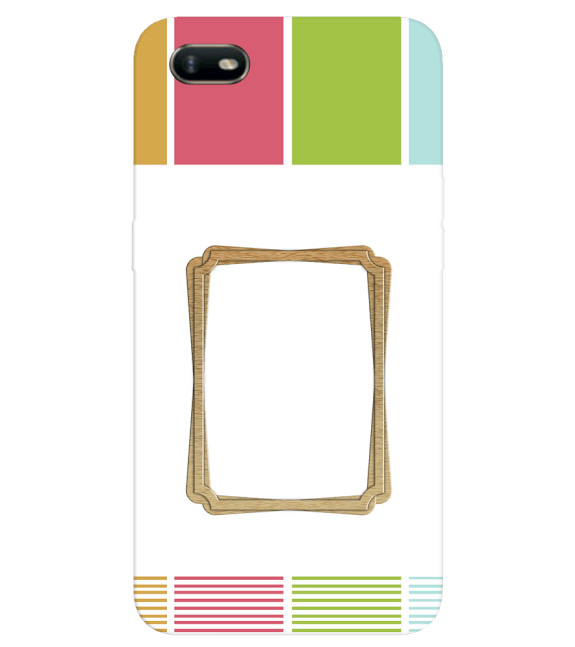 Neat Frame Back Cover for Oppo A1k