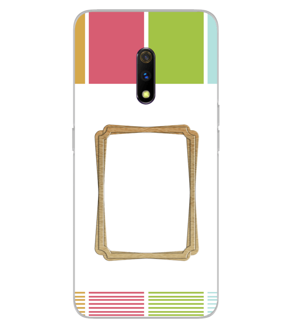 Neat Frame Back Cover for Realme X