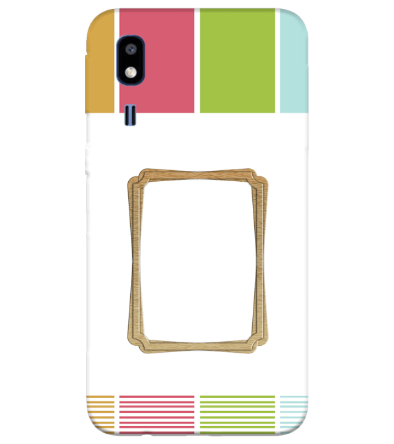 Neat Frame Back Cover for Samsung Galaxy A2 Core