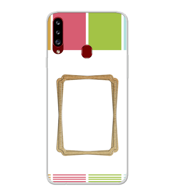 Neat Frame Back Cover for Samsung Galaxy A20s