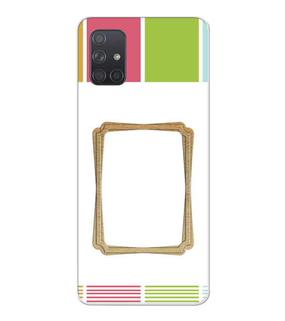 Neat Frame Back Cover for Samsung Galaxy A71