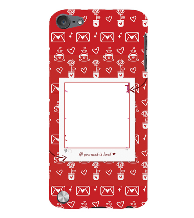 Need is Love Back Cover for Apple iPod Touch 5