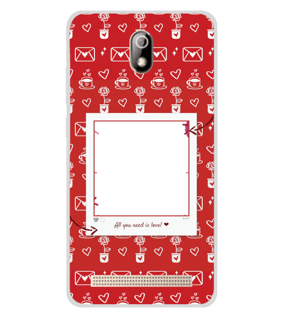 Need is Love Back Cover for Comio C1 Pro