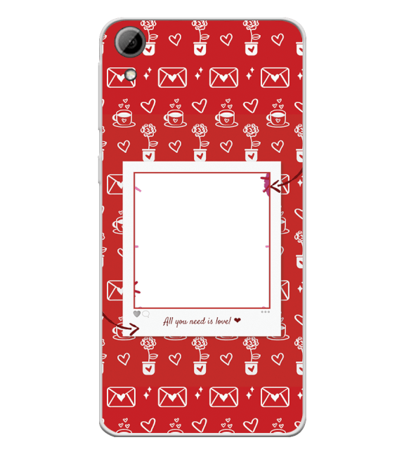 Need is Love Back Cover for HTC Desire 826