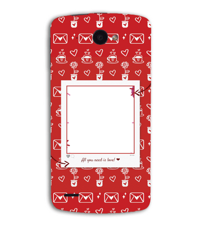 Need is Love Back Cover for Lenovo S920