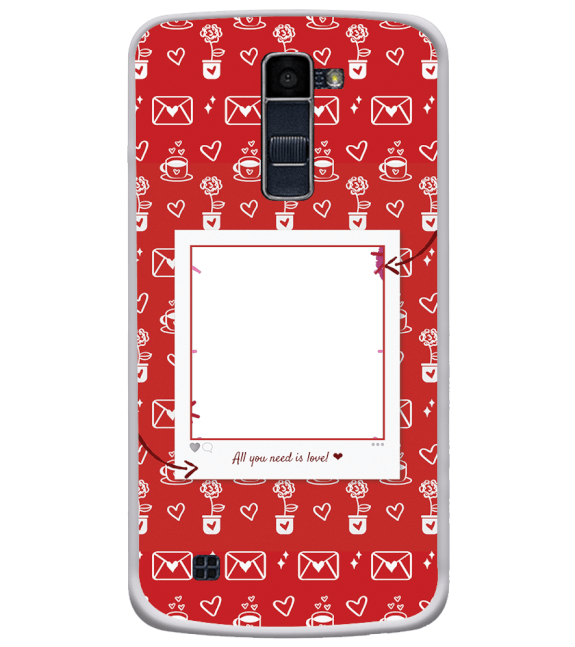 Need is Love Back Cover for LG K10