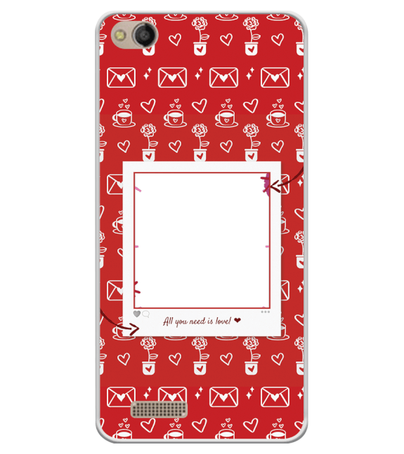 Need is Love Back Cover for Mobistar CQ Dual