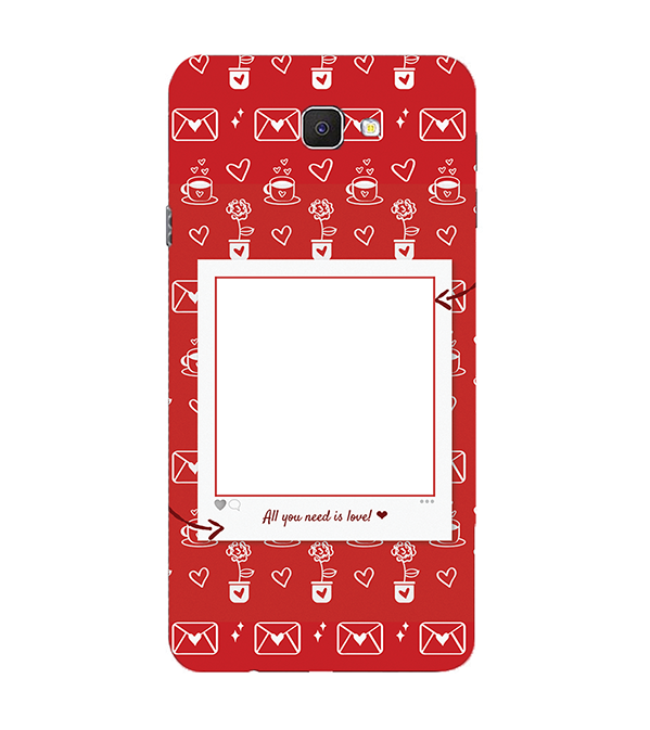 Need is Love Back Cover for Samsung Galaxy C9 Pro