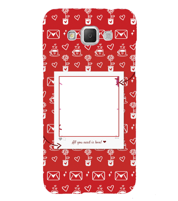 Need is Love Back Cover for Samsung Galaxy Grand Max G720