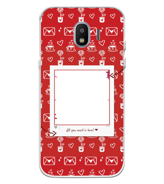 Need is Love Back Cover for Samsung Galaxy J2 (2018)