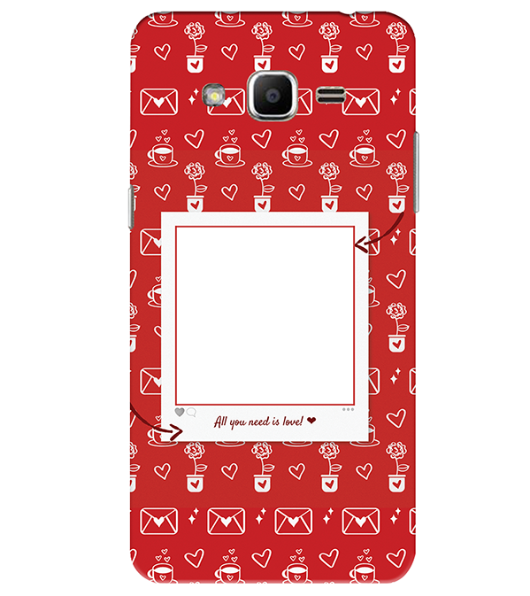 Need is Love Back Cover for Samsung Galaxy J2 Ace