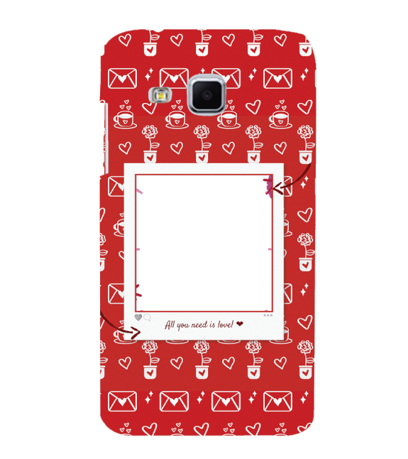 Need is Love Back Cover for Samsung Galaxy J3