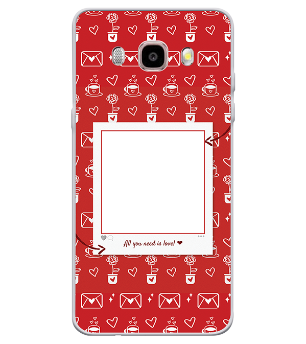Need is Love Back Cover for Samsung Galaxy J7 (6) 2016 : Galaxy On 8