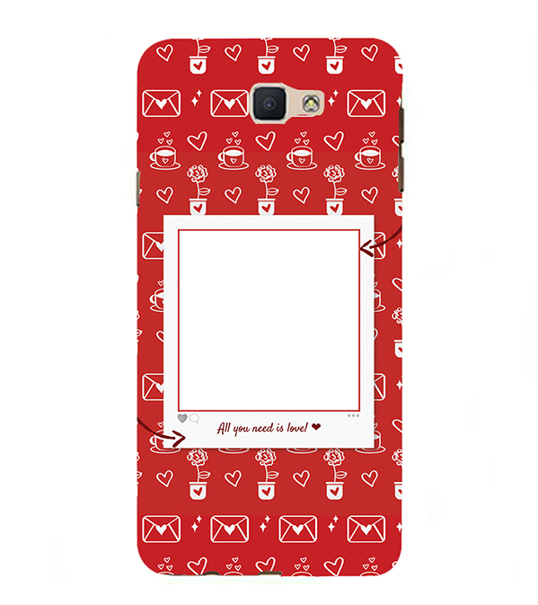 Need is Love Back Cover for Samsung Galaxy J7 Prime (2016)