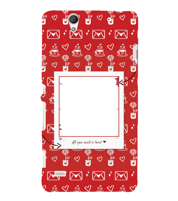 Need is Love Back Cover for Sony Xperia C4