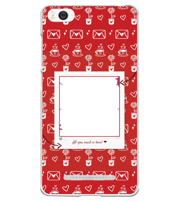 Need is Love Back Cover for Xiaomi Mi 4i