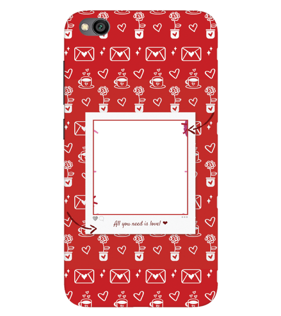 Need is Love Back Cover for Xiaomi Redmi Go